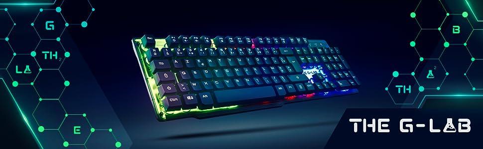 Keyz Neon; Teclado Retroiluminado; Gaming