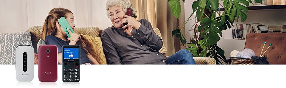 Panasonic Seniorenhandys