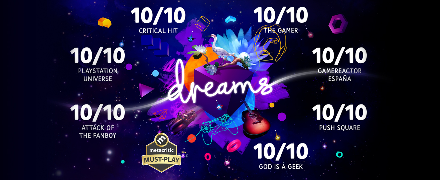 Dreams, PS4, Accolades
