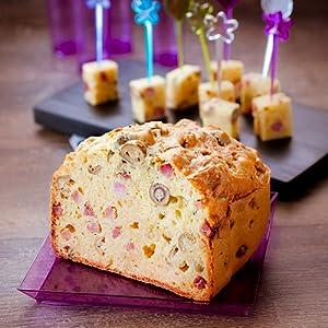 Receta Bizcocho de jamón y queso (sin gluten) - Programa 3