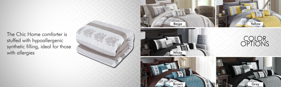 Chic Home hypoallergenic filling
