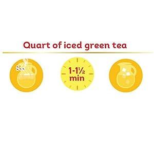 How to make a quart of iced green tea