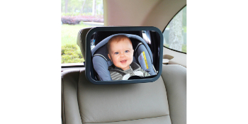 Jolly Jumper mirror, baby mirror for car, driver to see baby in car seat, driver's mirror