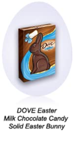 Fun Easter baskets need stuffers, such as a solid milk chocolate bunny.