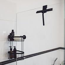 Met de Wenko silicone mola badkamerwisser zijn de tijden van lelijke kalkvlekken voorbij.