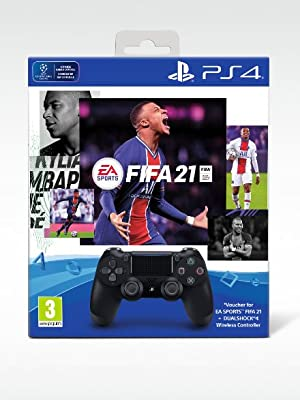 sony playstation ps fifa 21 voucher controller dual shock