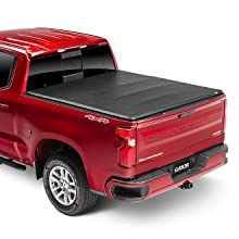 Amazon Com Gator Etx Soft Tri Fold Truck Bed Tonneau Cover 59409 Fits 2016 2020 Toyota Tacoma 5 Bed Made In The Usa Automotive