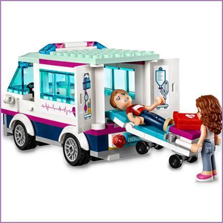 Lego Friends-41318 Friends Hospital de Heartlake
