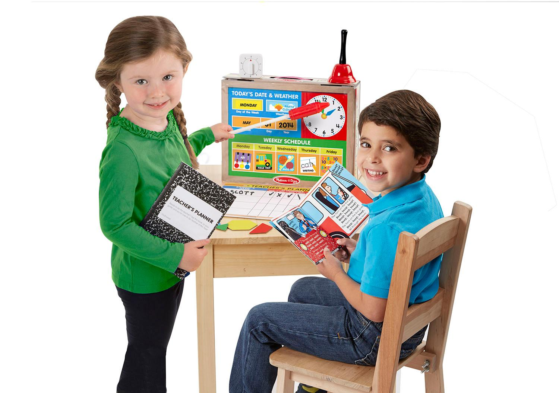 Toys For Teachers : Melissa doug school time classroom play set game be