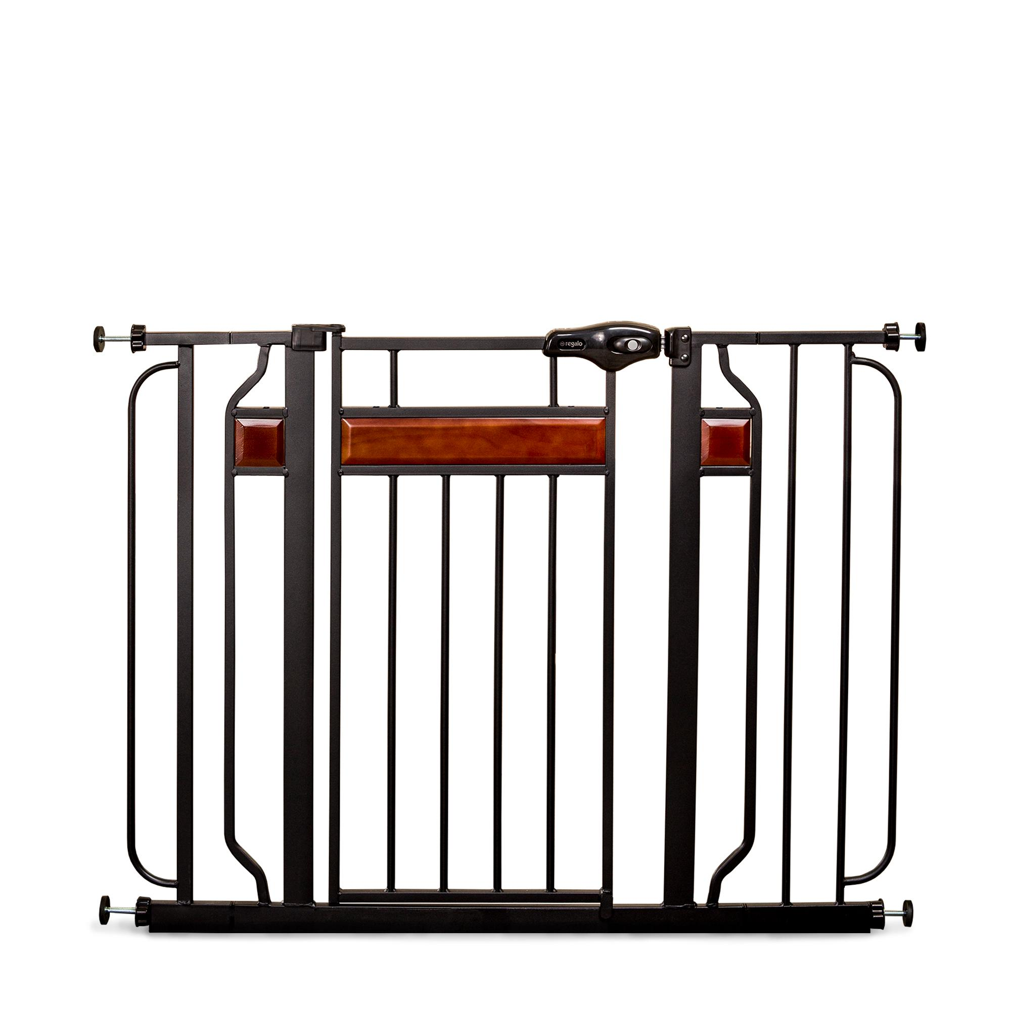 Regalo Home Accents Safety Gate Black Baby
