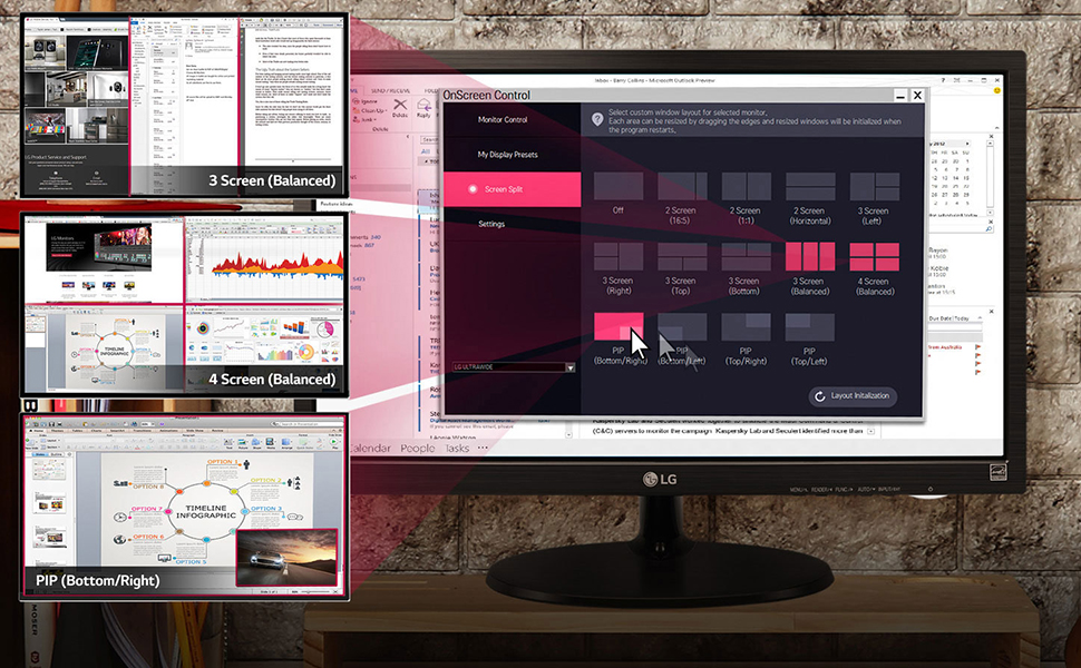 Customize Your Work-space for Multitasking