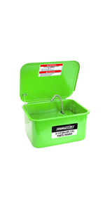 automotive parts cleaner; parts cleaning tank