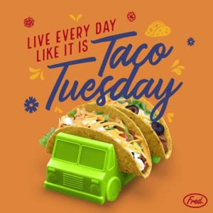 taco, taco truck, taco holder, picky eaters, fred, mexican, kitchen, kids, fun, eating