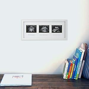 sonogram frame in adorable, giftable packaging