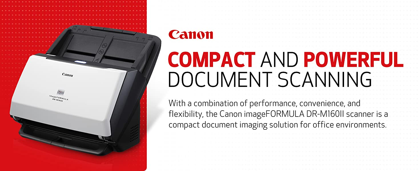 scanner canon scan document papers compact powerful