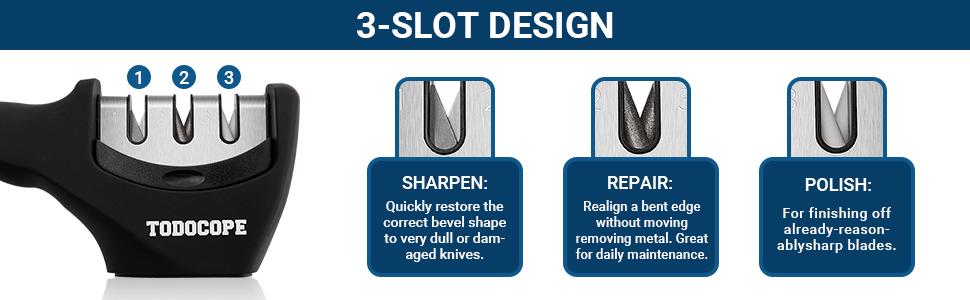 3-slot design