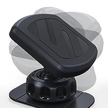 360 degree adjustable head