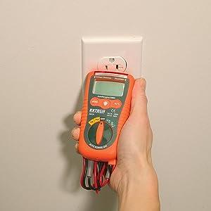 Extech instruments DM220 Extech mini strumenti tasca multimetro con rilevatore di tensione senza contatto