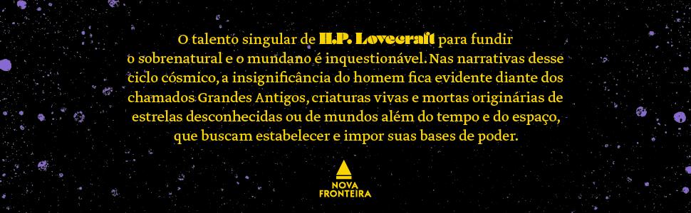 H. P. Lovecraft, narrativa, poder, obras