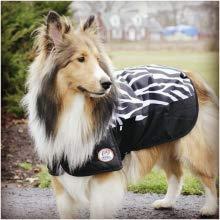 comfortable dog coat zebra print