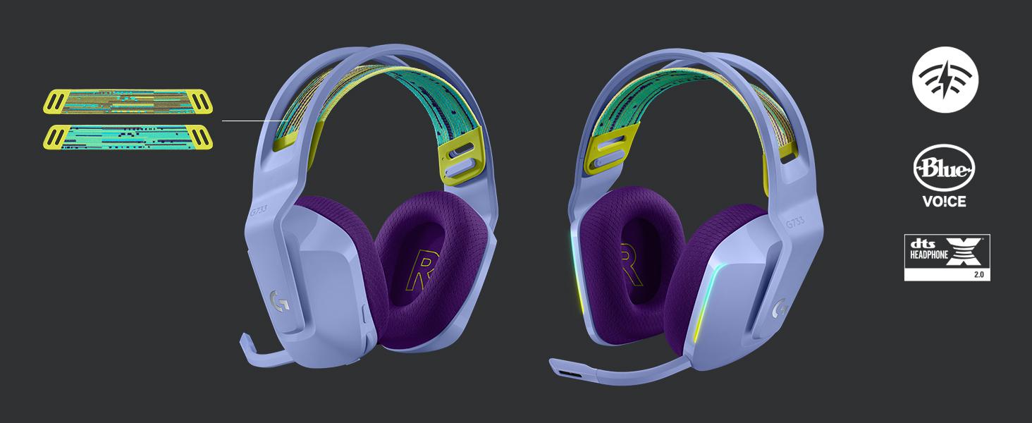Logitech G Auriculares con Micrófono Inalámbricos Logitech