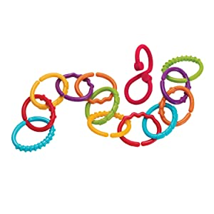 links, links for baby toys, plastic chain links, toy links, plastic links, lots of links, baby rings