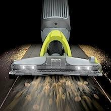 Powerful Vacuum suction