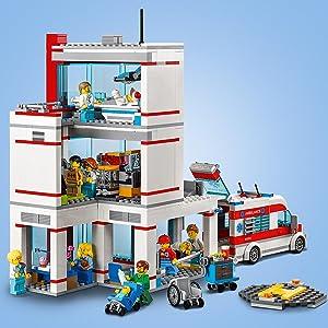 LEGO City Krankenhaus (60204) Kinderspielzeug: Amazon.de