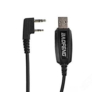 Baofeng USB Cable de programación para Las Series Baofeng UV-5R, GT-3, GT-5, Radioddity y Retevis