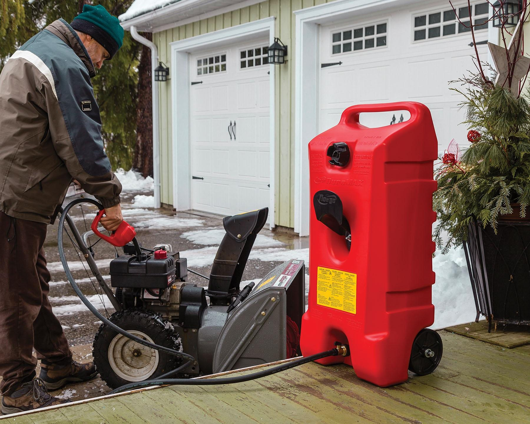 Amazoncom DuraMax Flo n Go LE Fluid Transfer Pump and 14 Gallon
