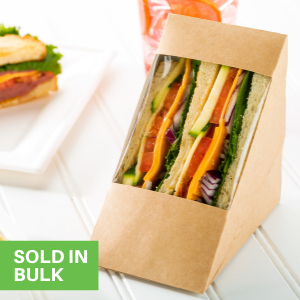 These disposable food boxes are shipped flat for space-saving storage in your kitchen.