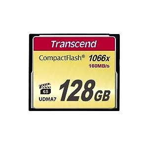 Transcend TS128GCF1000 - Tarjeta de Memoria Compact Flash de 128 ...