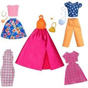 Amazon.es: Barbie- Conjuntos de Moda Accesorios Muñeca, Multicolor ...