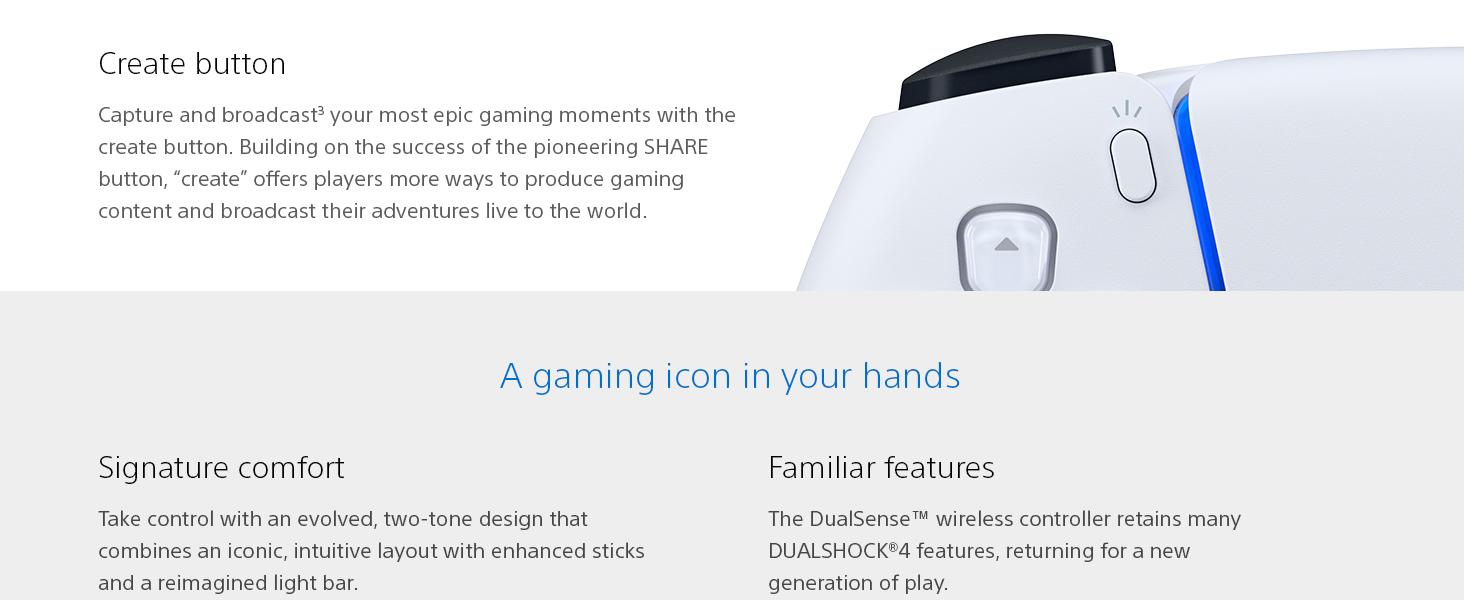 DualSense, PlayStation 5, PS5