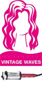 pink wavers; pink hairwavers