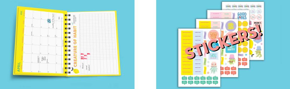 Happy Planner Lot de 220 notes adh/ésives pour rendez-vous