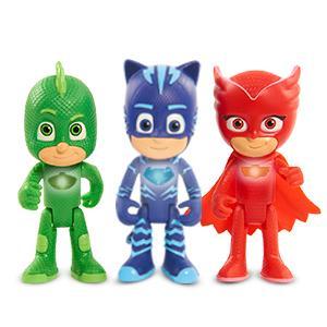 PJ Masks - Figura con luz Buhíta (Bandai 24547): Amazon.es