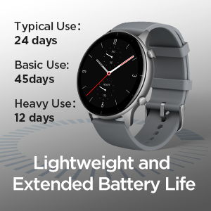 Lightweight and Extended Battery Life