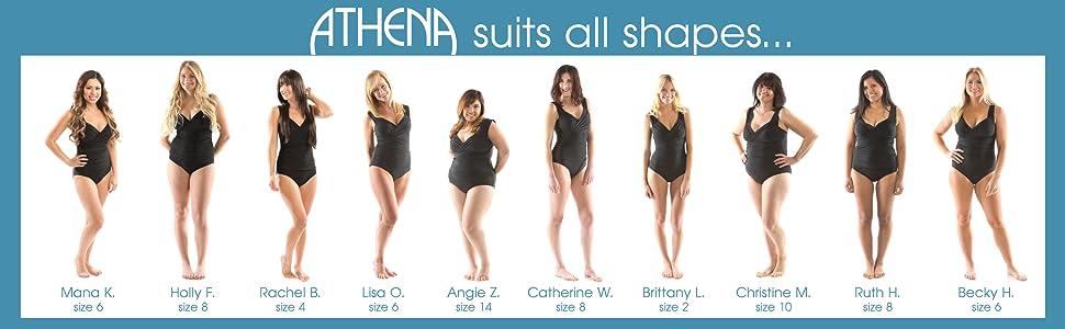 14e82b03dcb4b Womens swimsuit, swimwear, swim, modest, modern, flattering, conservative,  supportive
