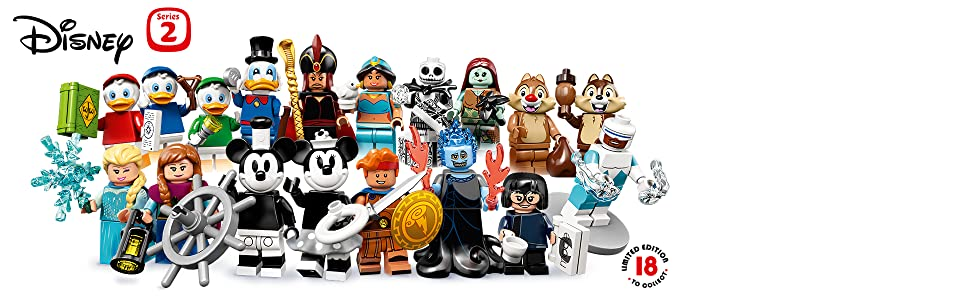 LEGO Disney Series 2 Minifigures SALLY NIGHTMARE BEFORE CHRISTMAS SEALED 71024