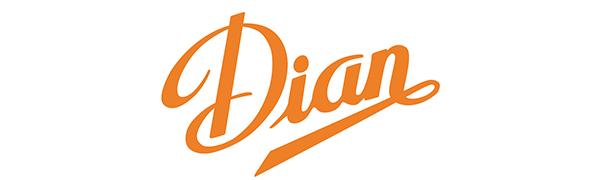 Es el logo de la sociedad Division Anatomicos. Se puede leer DIAN en color naranja.