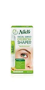 nads hair removal facial wand eyebrow shaper wax