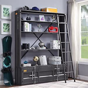 Cargo Bookshelf & Ladder