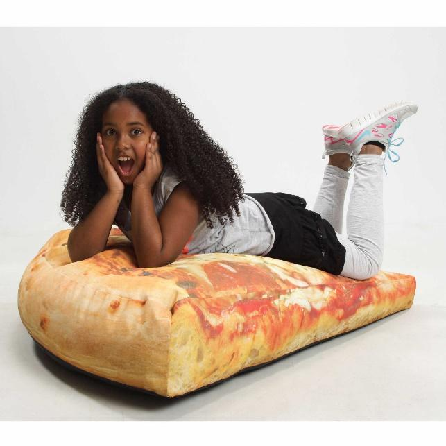 Its Fun And Super Comfortable What A Laugh Jumbo Size Pepperoni Pizza Beanbag