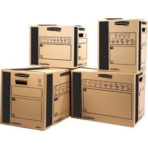 Bankers Box 6206502 Scatola per Traslochi e Trasporti Cargo Classic SmoothMove 350 x 370 x 500 mm 1 Pezzo