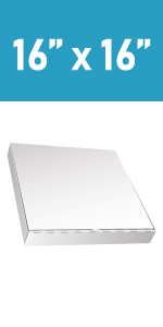 take out container; pizza boxes; pizza boes 16x16; cardboard boxes; card board boxes; white
