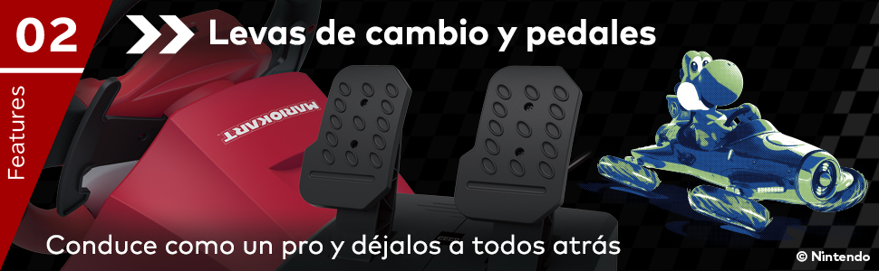 HORI - Volante Mario Kart Pro Deluxe (Nintendo Switch/PC): Amazon.es: Videojuegos