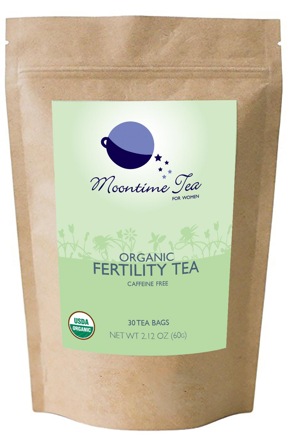 Organic Fertility Tea, 30 Teabags, 2 12 oz