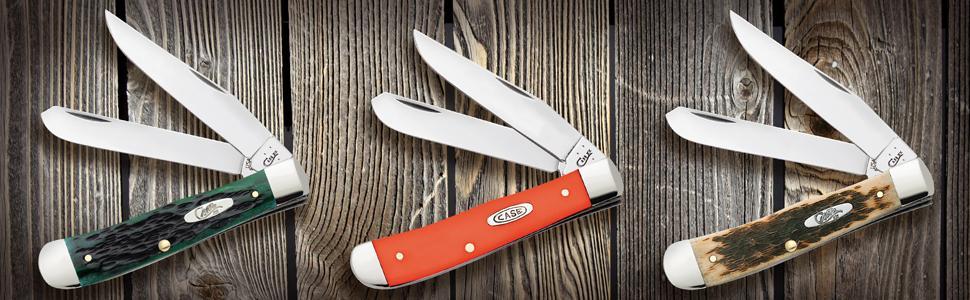 trapper, case trapper, trapper knife, pocket knife, wr case trapper, folding knife, amber bone