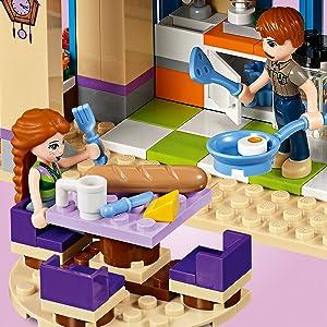 LEGO, house, kitchen